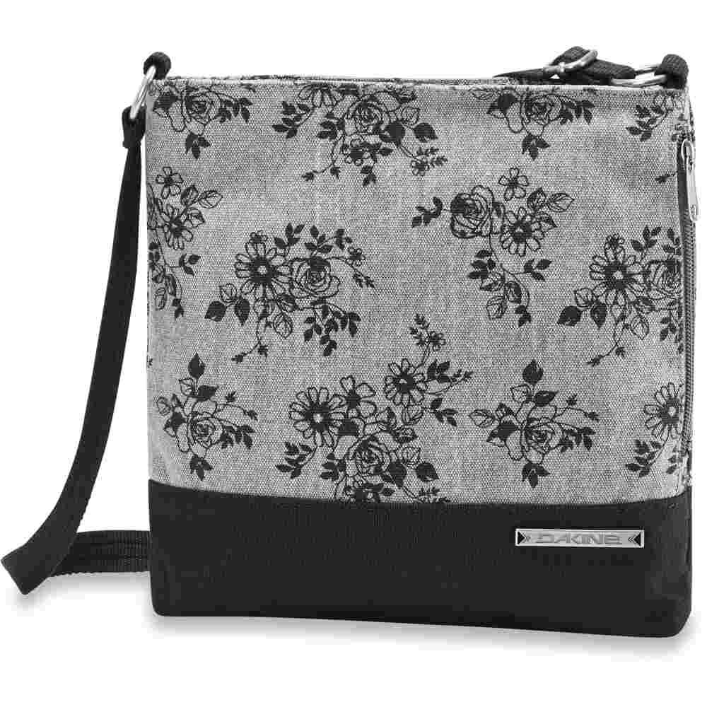70498e6df38f5 Dakine Jodie Schultertasche Rosie grau Blumen Handtasche Umhängetasche