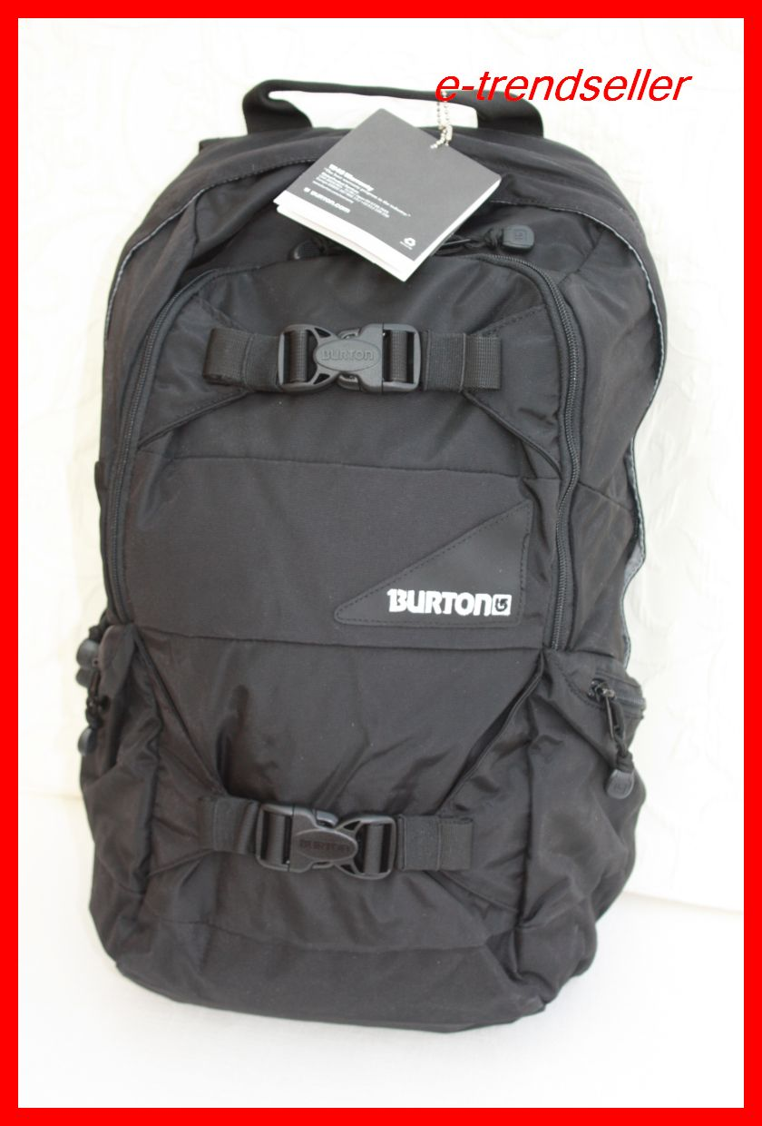 burton rucksack day hiker 20l ss true black schwarz neu ebay. Black Bedroom Furniture Sets. Home Design Ideas
