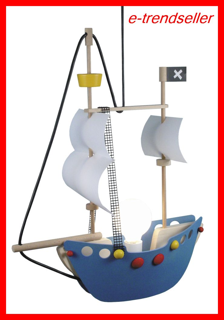 pendel leuchte piratenschiff kinder lampe kinderlampe rabalux ship rab4719 smash. Black Bedroom Furniture Sets. Home Design Ideas