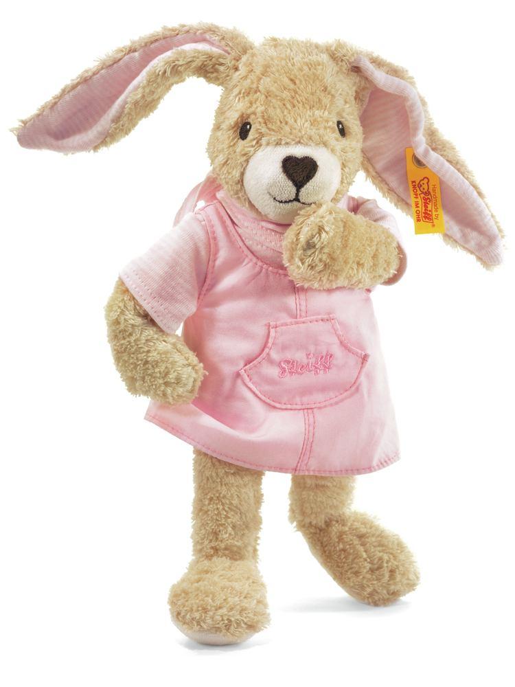 steiff 237560 hoppel hase 28 cm rosa spielzeug baby kuscheltier neu ebay. Black Bedroom Furniture Sets. Home Design Ideas