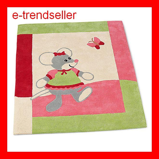 Kinderteppich sterntaler  STERNTALER 96276 TEPPICH MATHILDA MAUS KINDER 100 x 120 ...